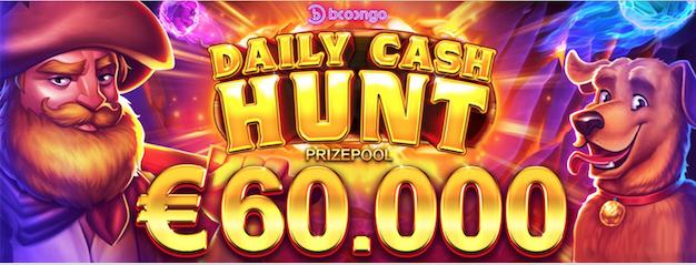 Daily Cash Hunt Booongo Network Tournament Series