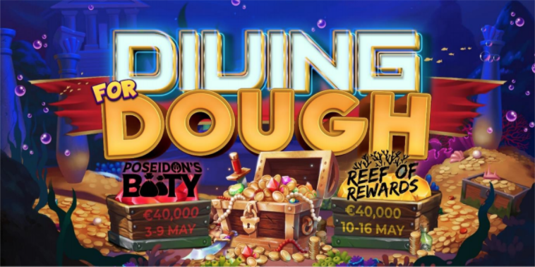Yggdrasil Diving for Dough Сетевой турнир с призовым фондом в размере 80 000 €