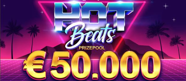 Hot Beats Tournament Prize Pool €50.000