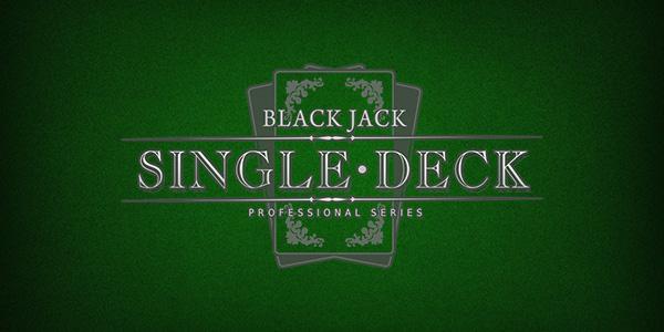 Einfacher Weg, um beim Single-Deck-Blackjack zu gewinnen